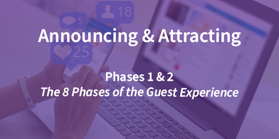 A Lens Into the Attracting & Announcing Phases of the Guest Journey