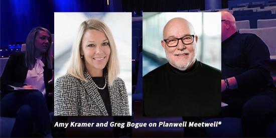 Maritz Global Events Amy Kramer and Greg Bogue
